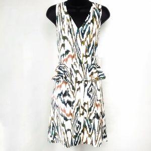 NEW 1.State Peplum Midi Dress with Slip NWT
